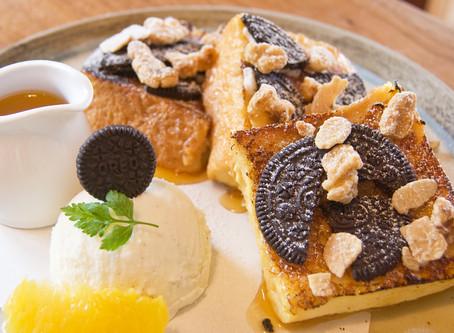 新メニュー!クッキークリーム&メープルナッツのフレンチトースト