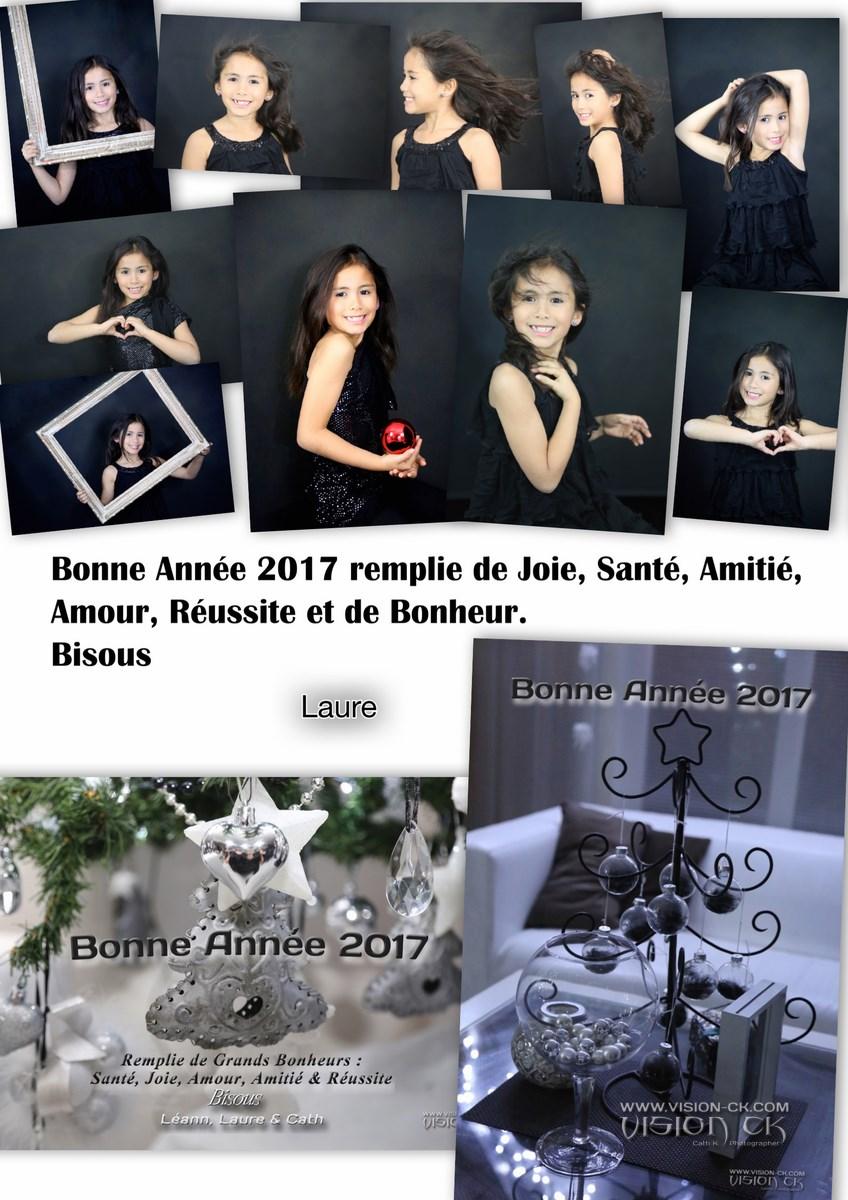 Carte BONNE ANNEE 2017 LAURE (LOGOTE)