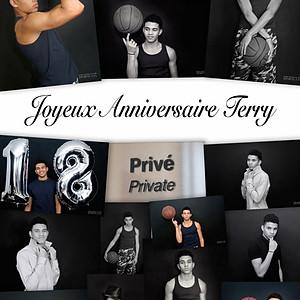 "Anniversaire 18 ans "" Terry """