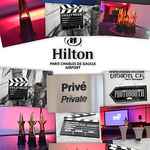 Soirée Entreprise Hilton Roissy CDG