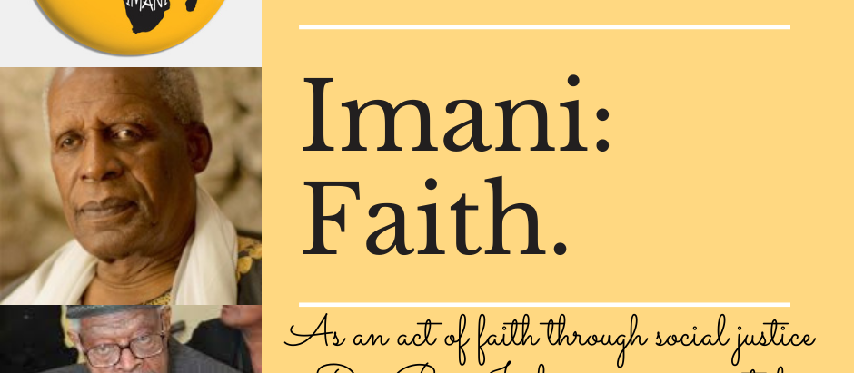 Imani (Faith): The Seventh Day of Kwanzaa.