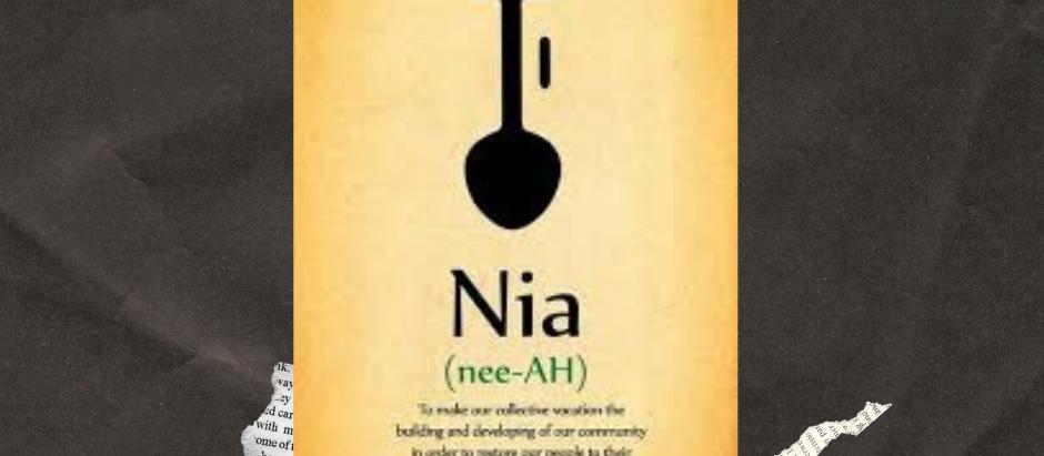 Nia: The Fifth Principle of Kwanzaa