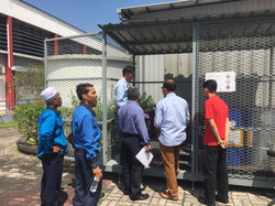 scheduled waste inspection