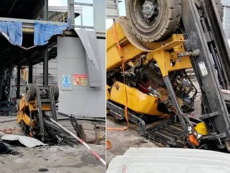 Senarai kes Maut kemalangan Forklift di Malaysia
