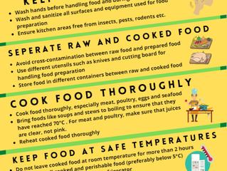 PROMOTING SAFE FOOD HANDLING