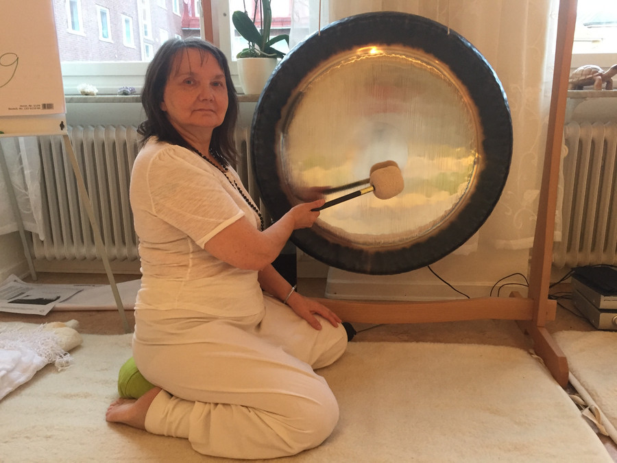 Lærer å gonge - oahppamin gonget