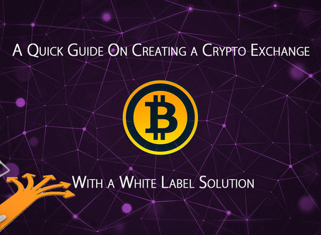 A Quick Guide On Creating a Crypto Exchange With a White Label Solution