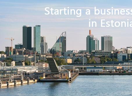 Starting a business in Estonia