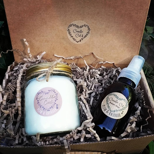 Candle & Room Mist gift box