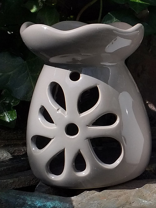 Taupe Flower Wax Melter