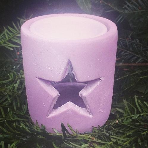 Pink Star Concrete Burner