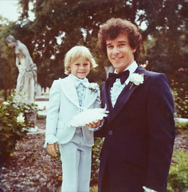 Bruce and Son at his Wedding to Becky