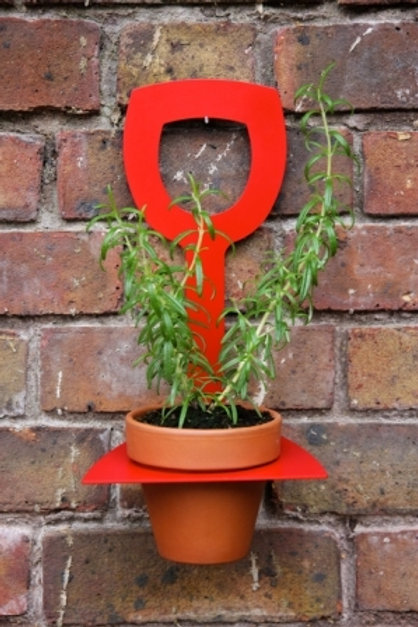 Doug the Plant Holder - Red