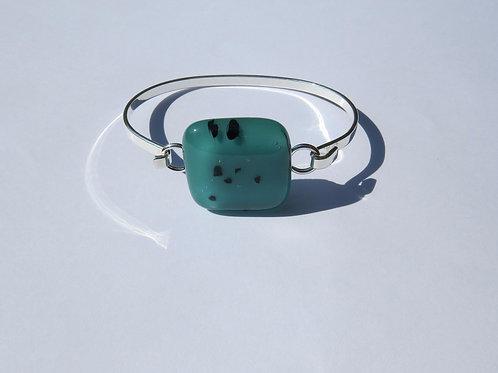 Teal and Black Bracelet