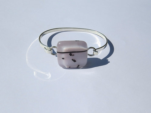 Lilac and Black Bracelet