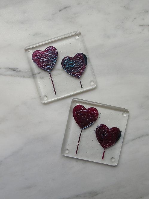 Heart Tree Coaster