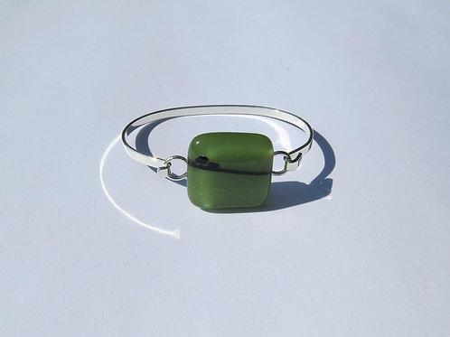 Sage and Black Bracelet