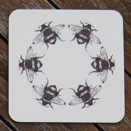 A Hive of Bees Coaster