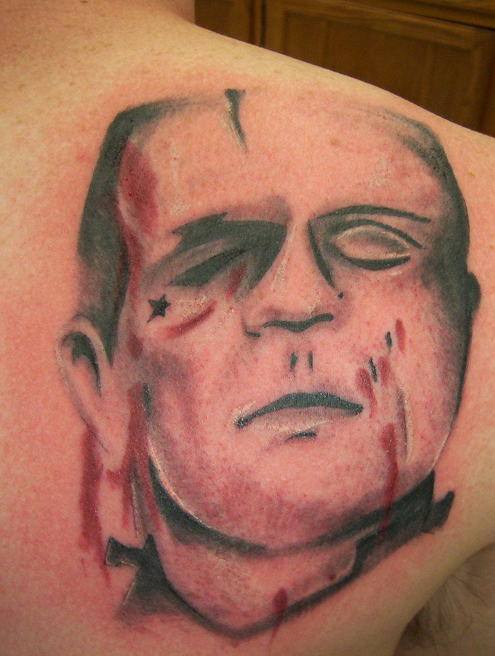 frankenstien tattoo