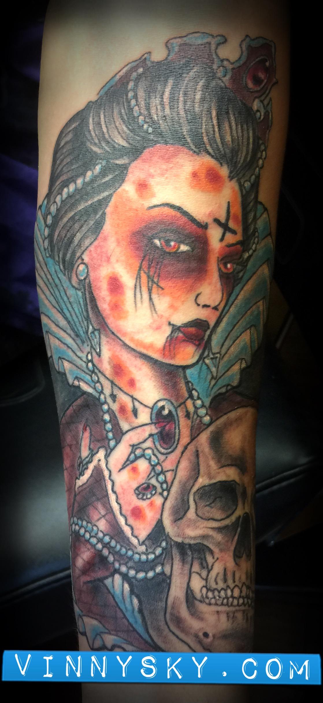 Elizabeth Besson Tattoo