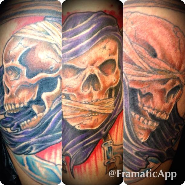 3 Skull Tattoo
