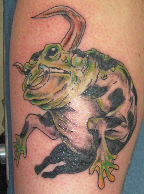 bullfrog tattoo
