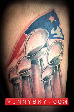 Patriots Tattoo