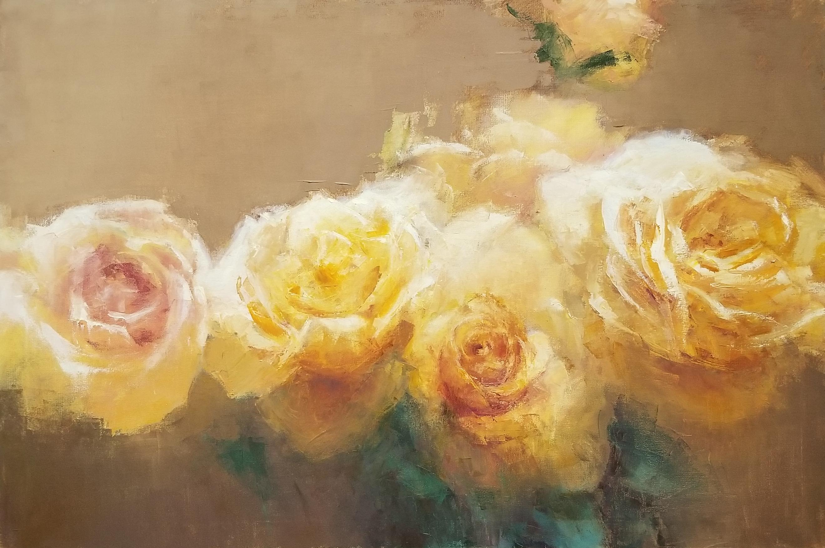 Yellow Roses, 24 x 36 o c