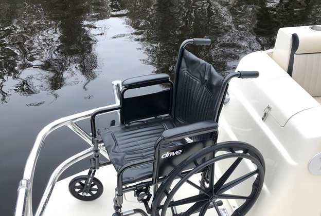 wheelchair accessible fishing