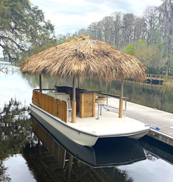 Authentic Thatched Tiki Roof
