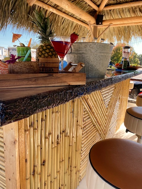 Custom Bamboo Tiki Bar