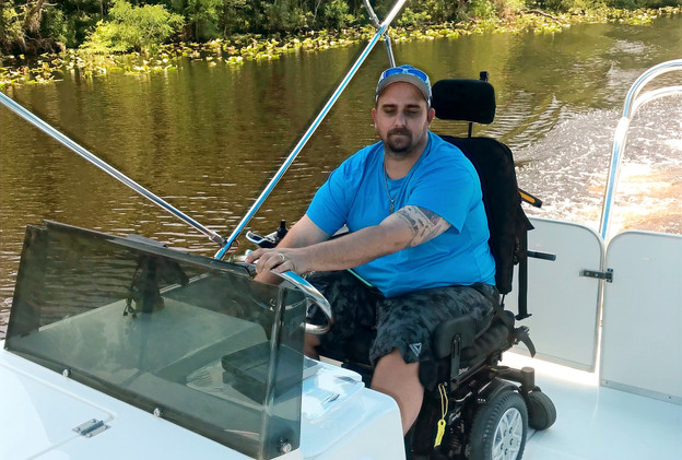 Wheelchair accessible cruising.
