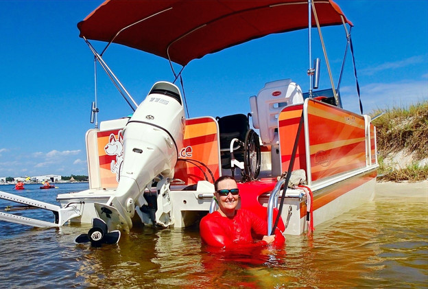 Wheelchair accessible watersports