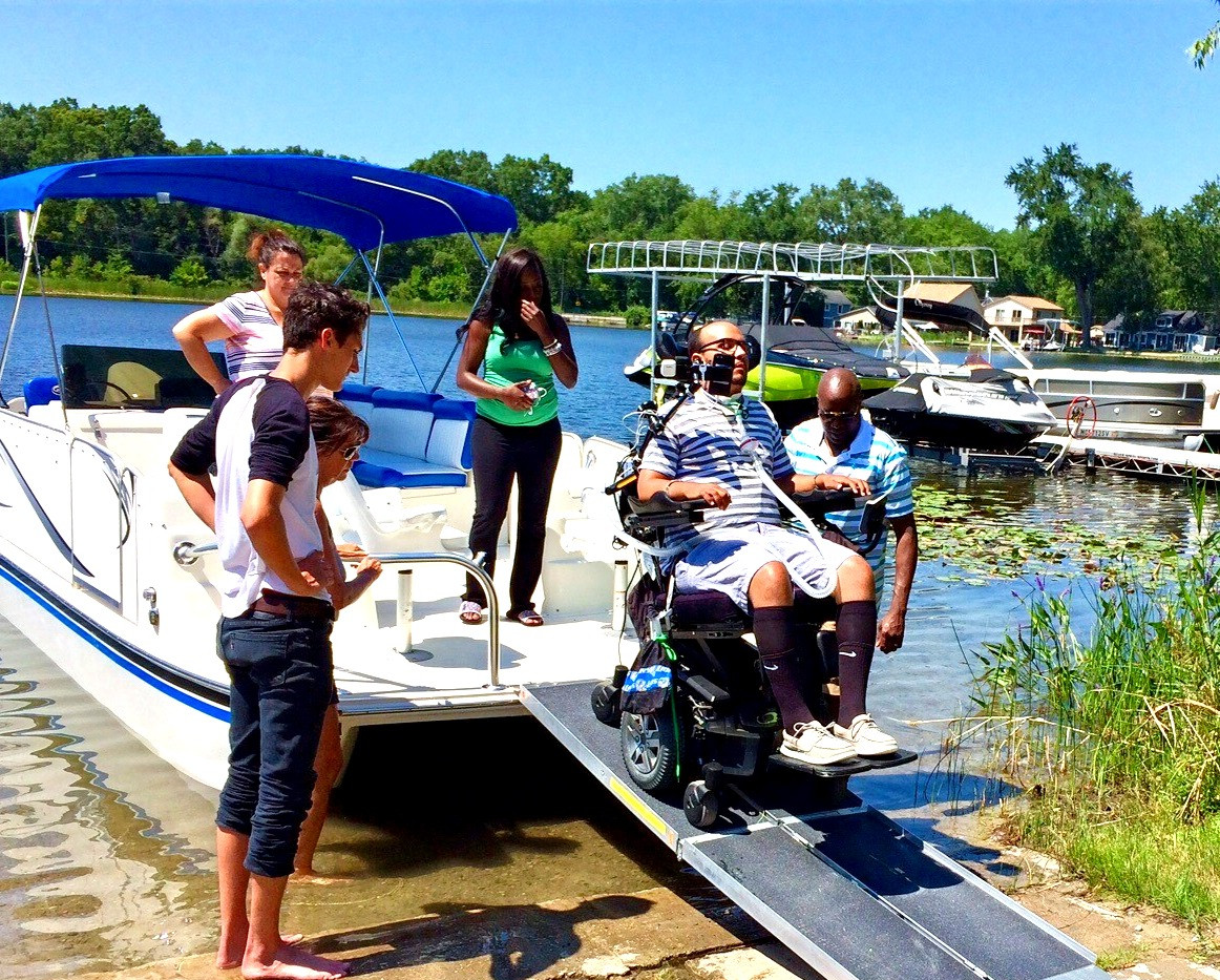 Physical disabilities dont keep you off the water with H2O Mobility.