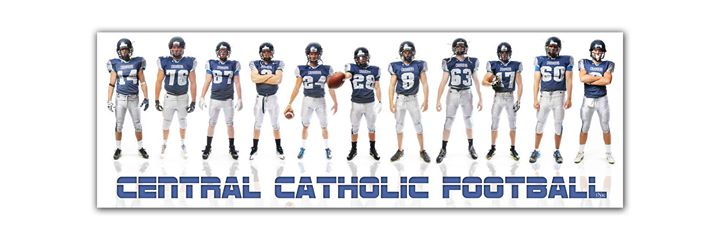 Grand Island Central Catholic Seniors - It's Football Time!