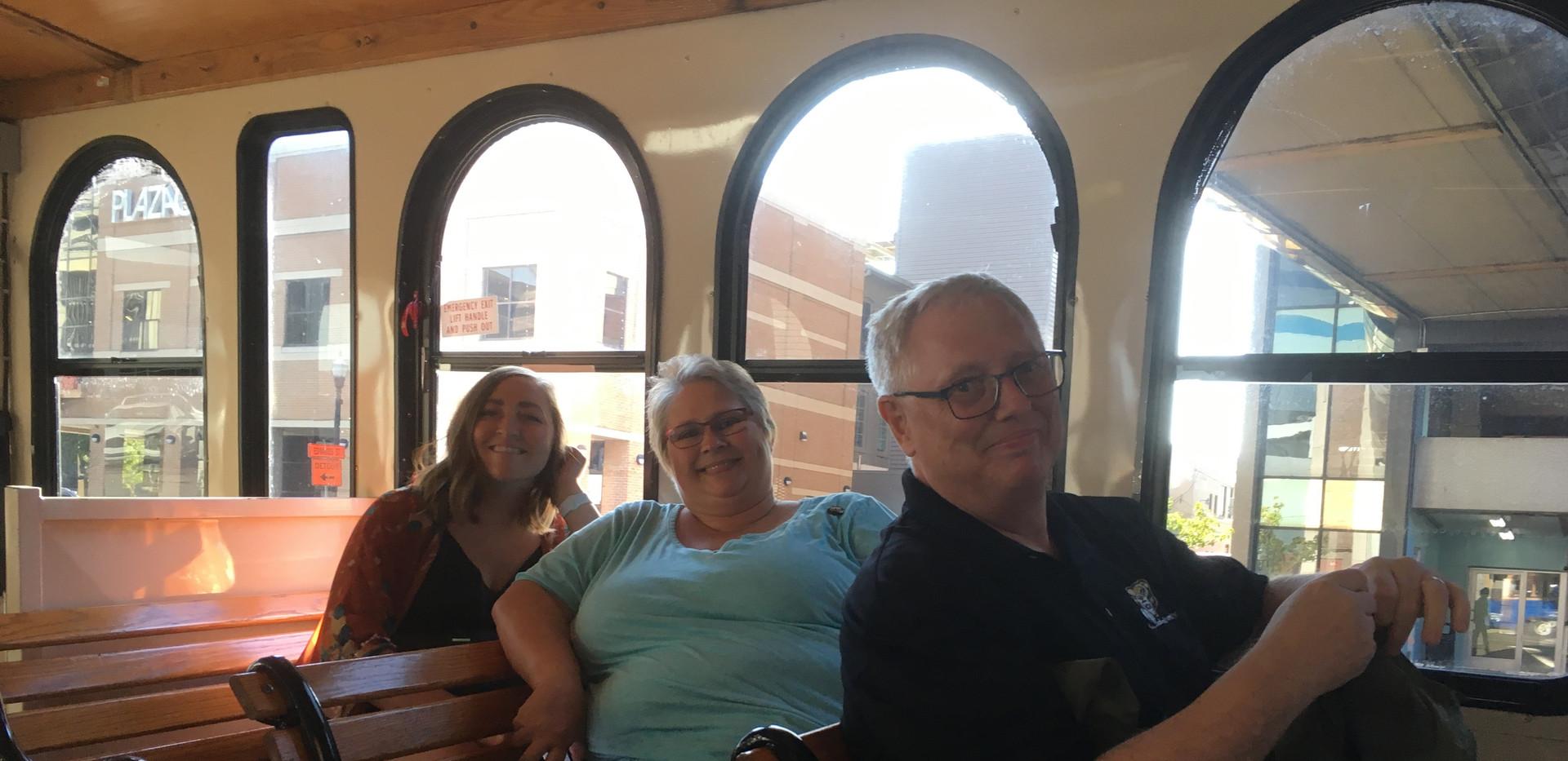 Cheryl LeClaire, Chelsea, and Steve Kent