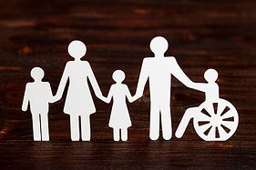 cutout-paper-different-family-members-wo
