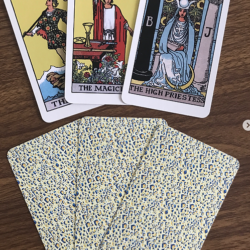 Complete Rider Waite Tarot Deck (78 Cards)