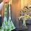Thumbnail: Fuzzy Light Green Shoulder Bag