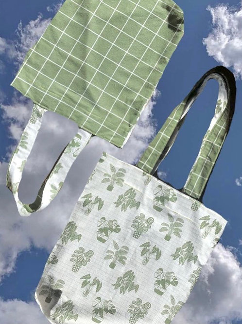 House Plant Tote
