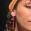 Thumbnail: Golden Hanging Earrings