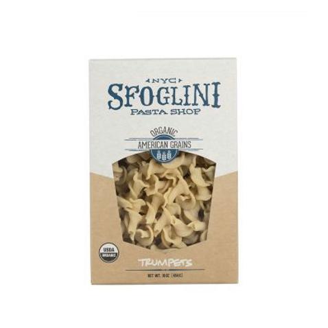 Organic Semolina Trumpet Pasta - Sfoglini Pasta