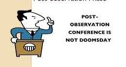 """A Post-Observation Conference""(Conversational Analysis Perspective)"