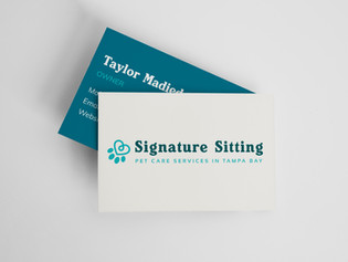 SIGNATURE SITTING