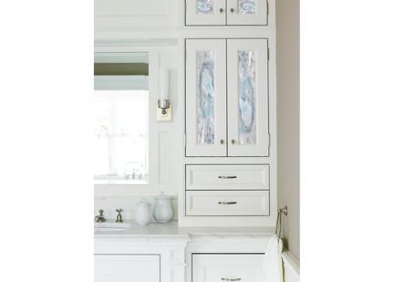 Kitchen Cabinet Door Glass Inlays