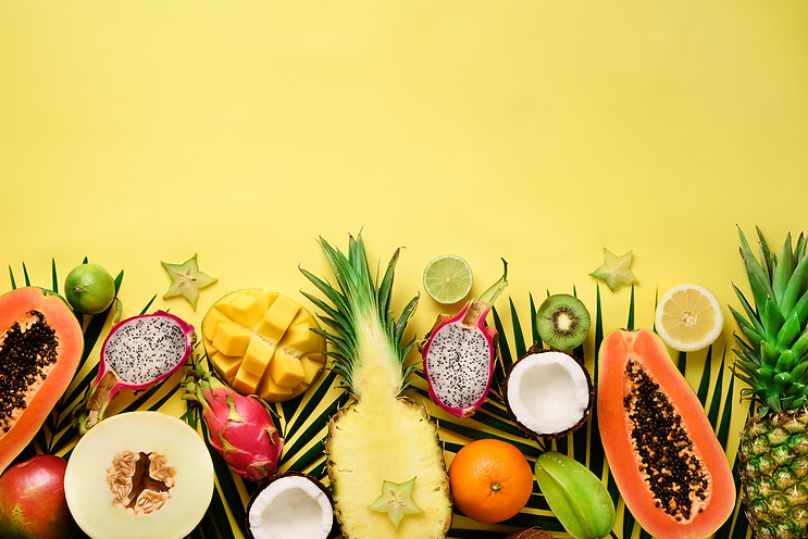 exotic-fruits-and-tropical-palm-leaves-p