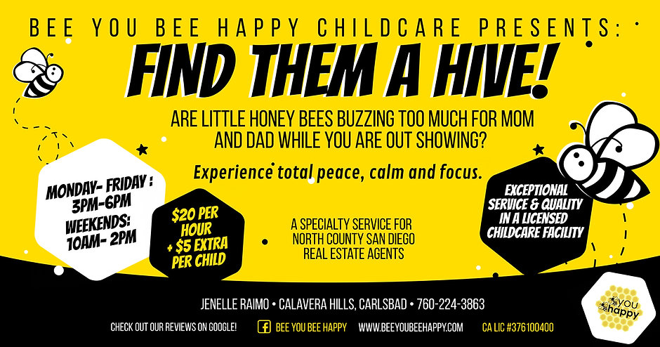 Bee You Bee Happy Agent - Find Them a Hi