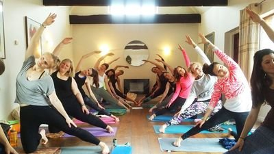 Yoga at the Brooklands, Arundel