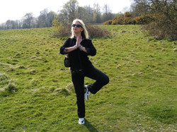Yoga on the field Battle, Hastings