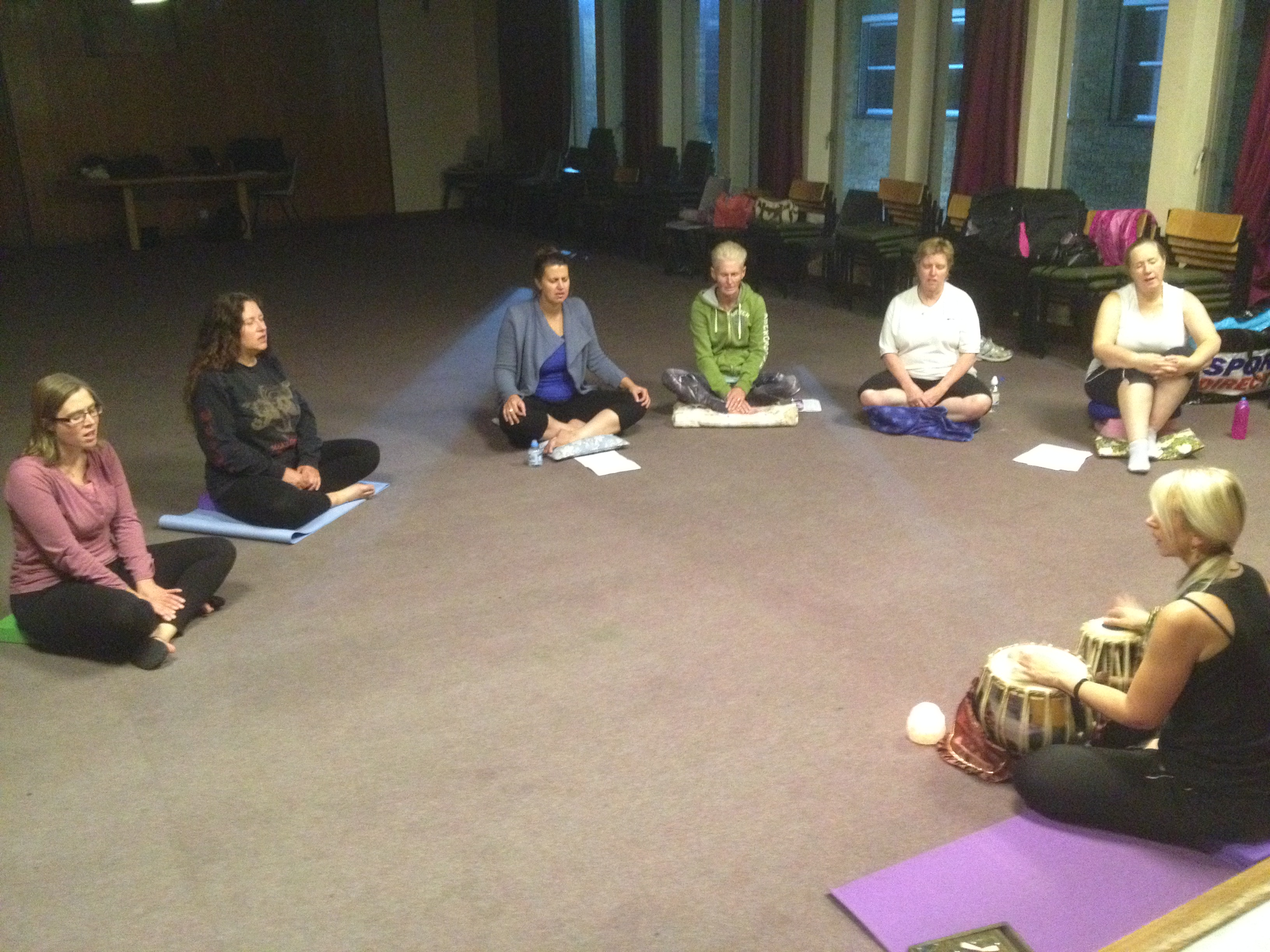 Chanting Meditation, Weybridge